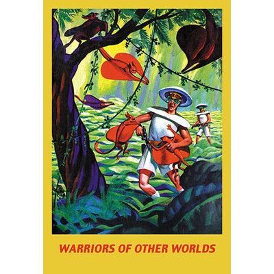Buyenlarge 'Warriors of Other Worlds' Vintage Advertisement