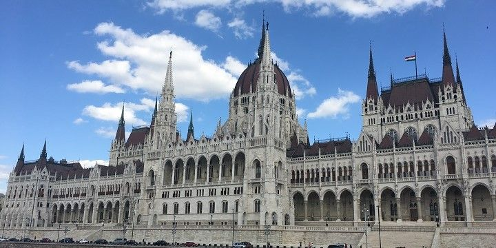 The Hungarian Parliament, Budapest, northern and central Hungary, Hungary, Europe