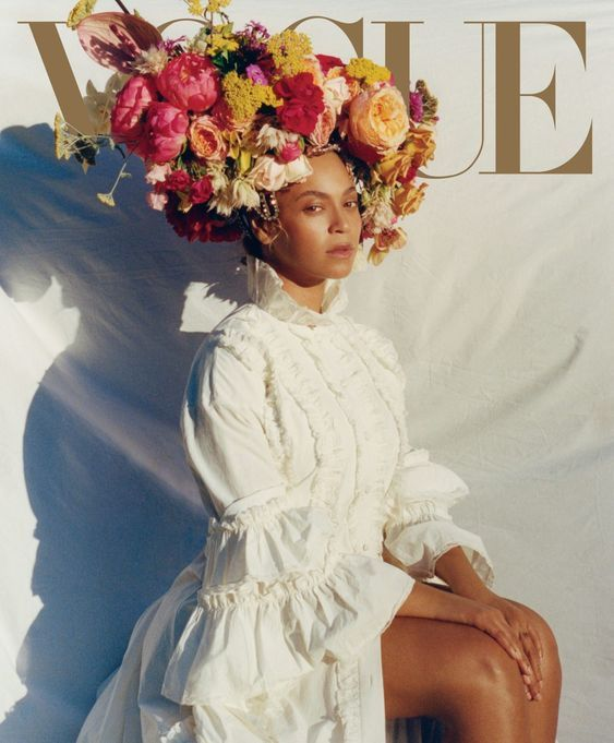 Have you seen Beyoncé's Vogue cover? She looks beautiful, doesn't she? In the September issue of Vogue, Beyoncé talks about pregnancy, body acceptance, her amazing performance at Coachella, and the On the Run II Tour. (Photo courtesy Vogue/Tyler Mitchell)