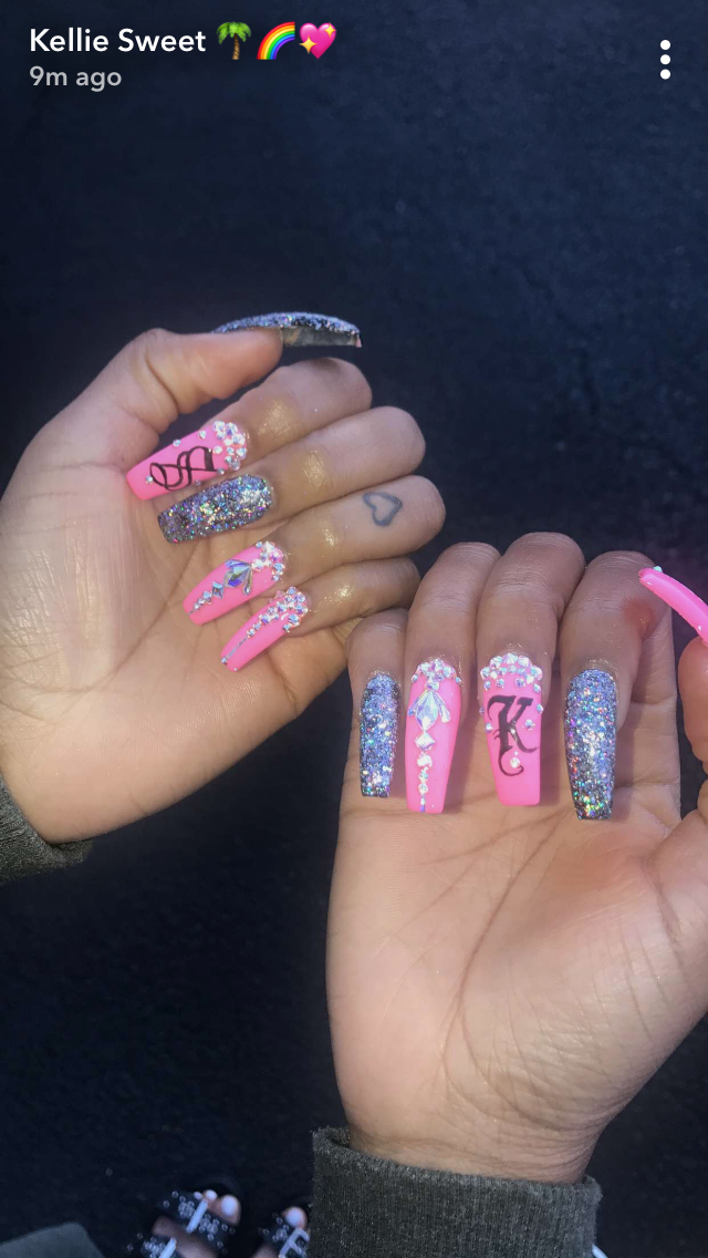 Pin by IG:glizzypostedthat ❄ on NAILS | Pinterest | Nail inspo ...