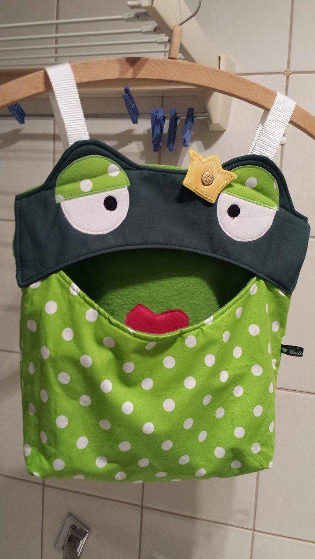 Utensilo ♥♥♥ Klammerbeutel Frosch ♥♥♥ Hän | Sewing ideas ...