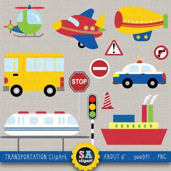transportation clipartquottransportation clip artquotpack