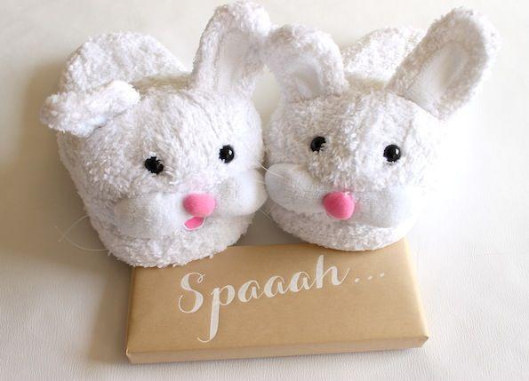 Easter basket for her bunny slippers easter baskets and easter easter basket for her evite negle Images
