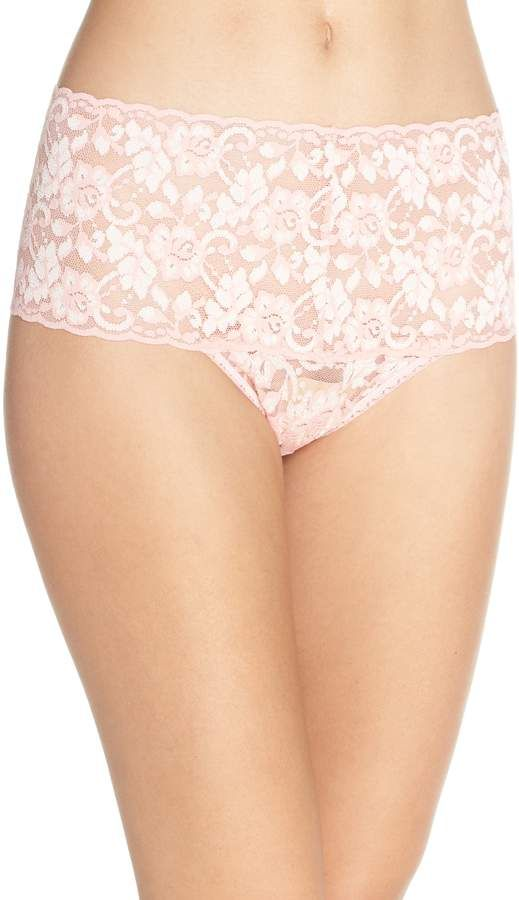 43bf200cfd2c Hanky Panky Cross Dye Lace Retro Thong | Products in 2019 | Lace ...