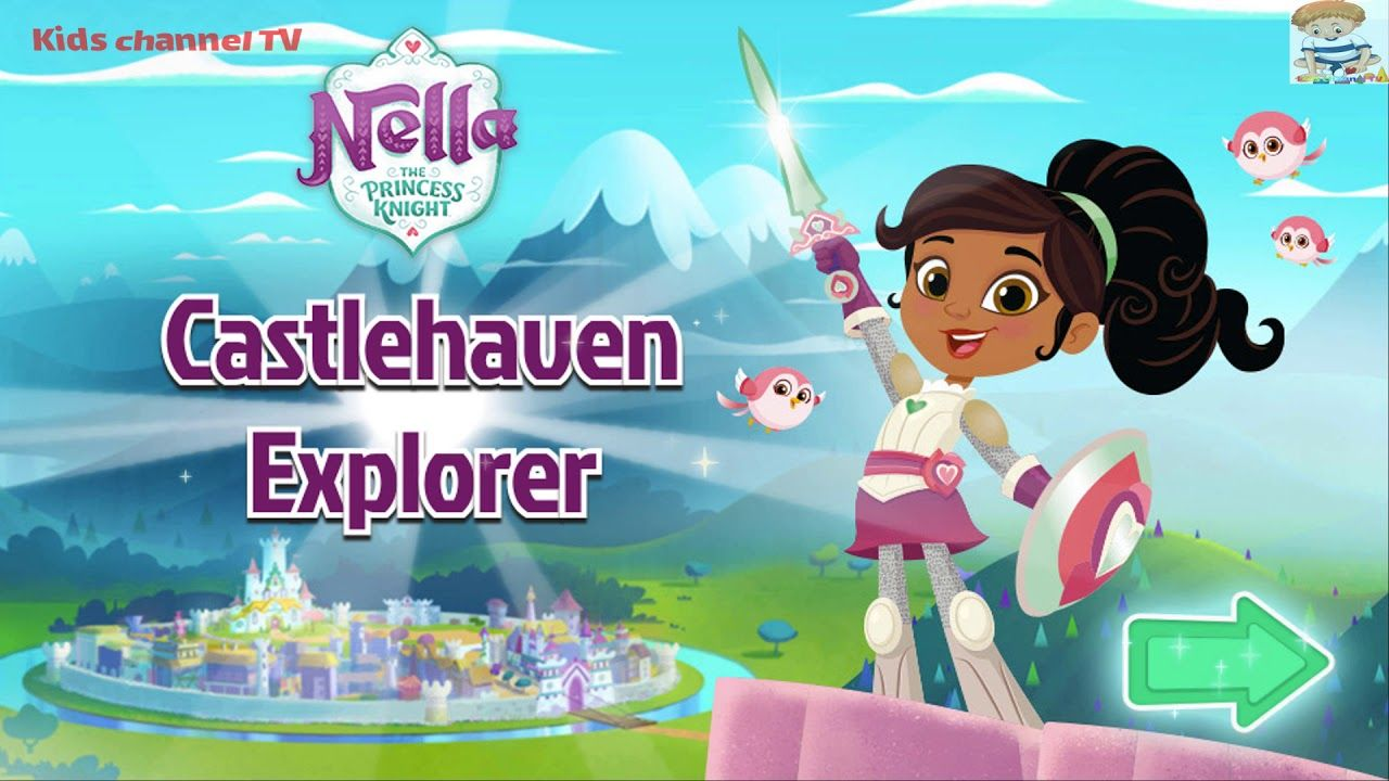 Nella the Princess Knight   Castlehaven Explorer   Nick Jr. Games ...