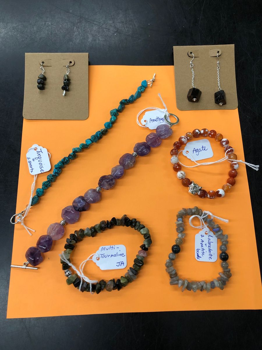 New #bracelets and #earrings are here! 😍 Violet Gate #handcrafted #authentic #gemstonejewelry ~ healing beauties to beautify your life! 💓 #gemstone #jewelry #connecticut #crystals