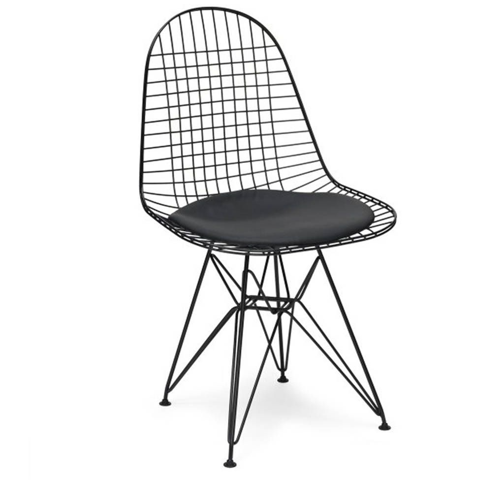 Chair Metal Eames Style Dkr Wire Mesh Chair | Mesh chair, Wire mesh ...
