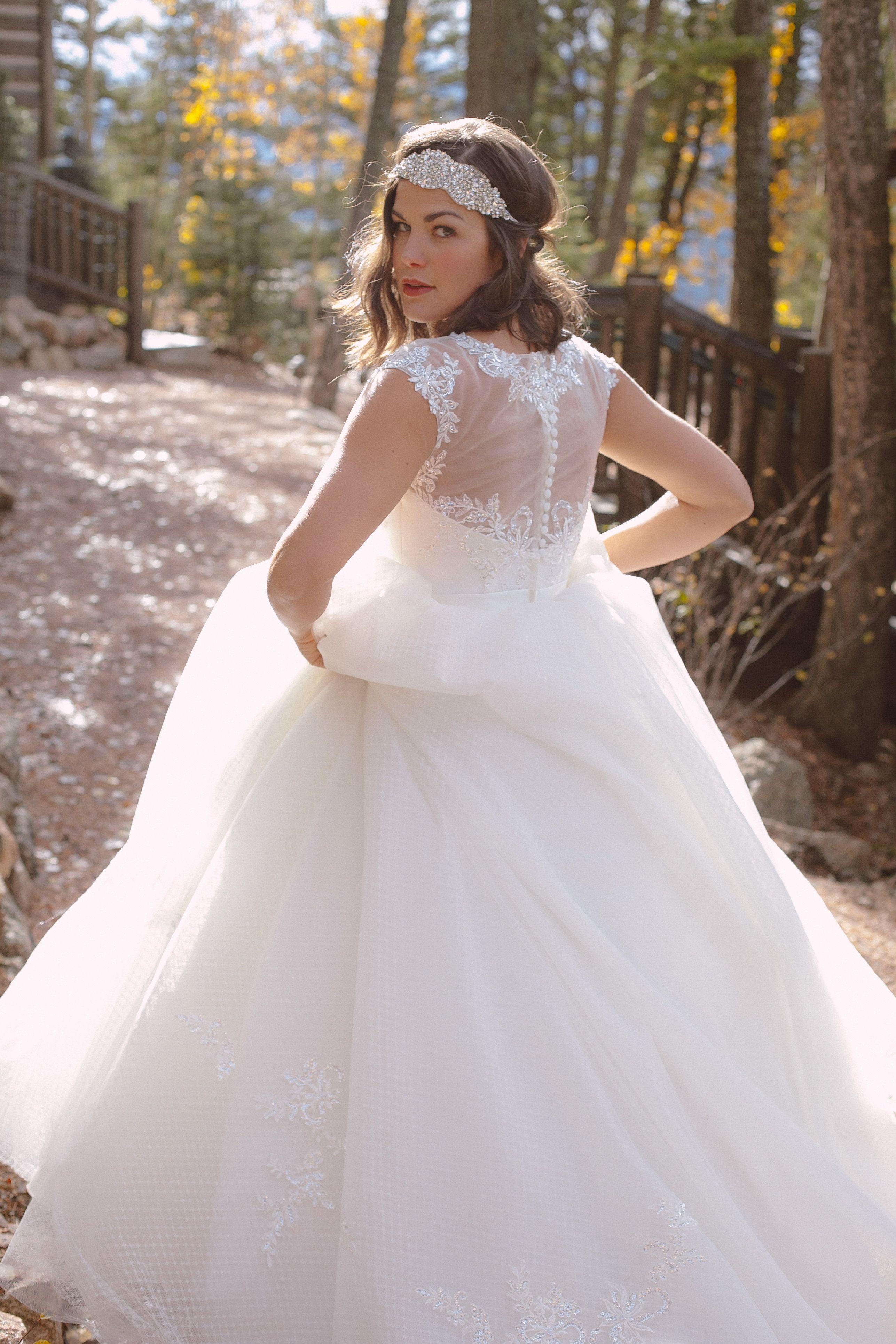 Wedding dresses stores  Divina Wedding Dresses at The Broadmoor Cloud Camp  Divina Wedding