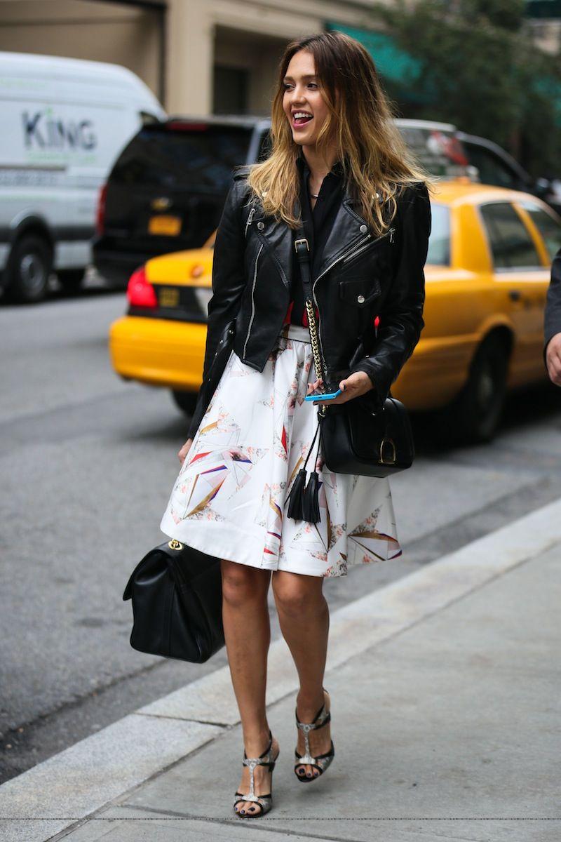 Jessica Alba #Fashion #Women_Style
