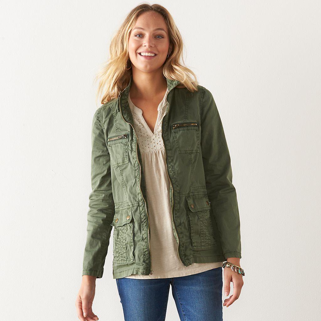 Women S Sonoma Goods For Life Josie Anorak Jacket Kohls Anorak Jacket Women Anorak Anorak [ 1024 x 1024 Pixel ]