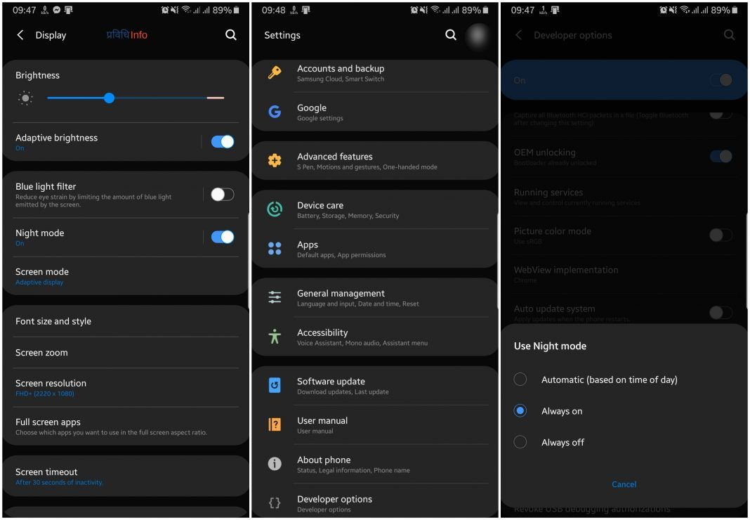33 Android Apps With Dark Mode Support And How To Enable It
