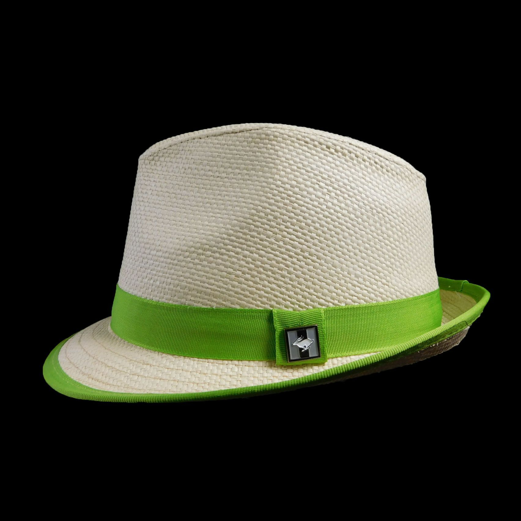 Peter Grimm Fedora with bright trim  2a62d6519810
