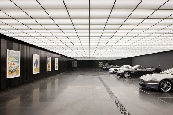 Image result for residential underground garage underground garage pinterest underground - Loft houses with underground garage ...
