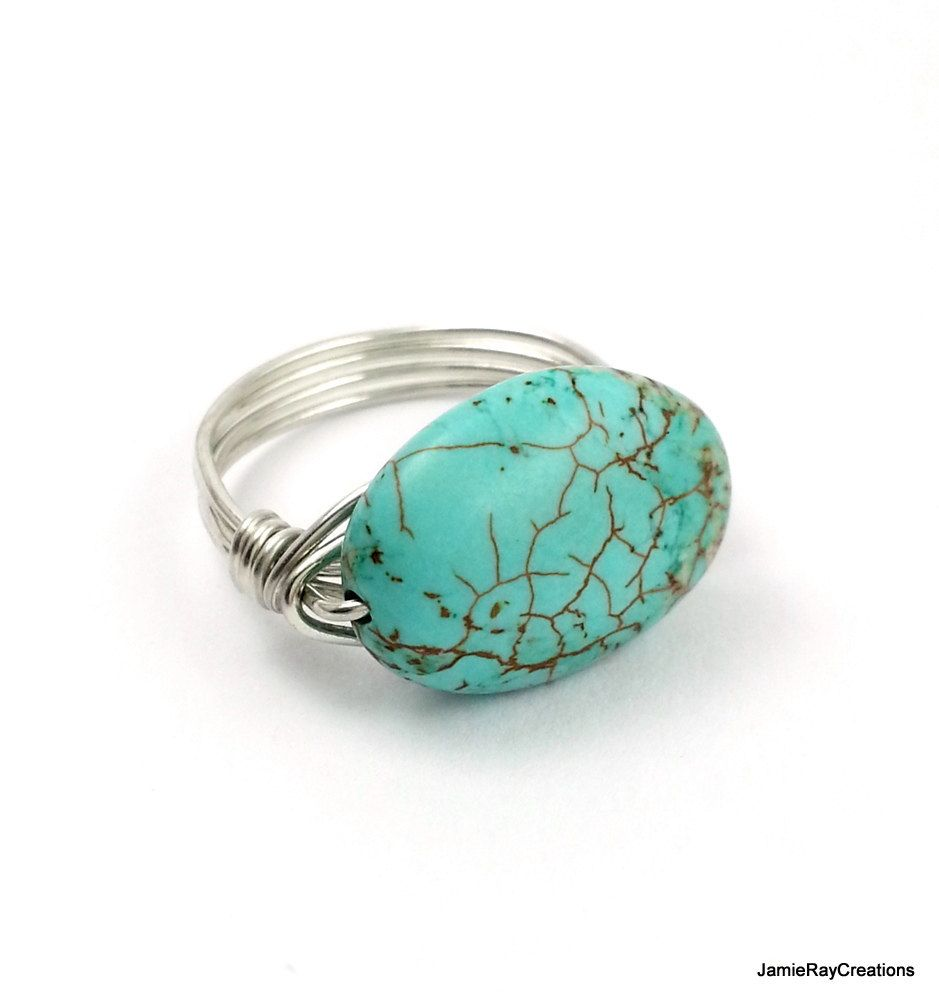 90+ Wire Stone Rings - 22 Patterns For Wire Wrapped Rings With DIY ...