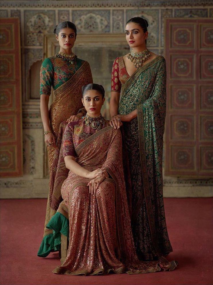 Photo of Sabyasachi wedding sarees