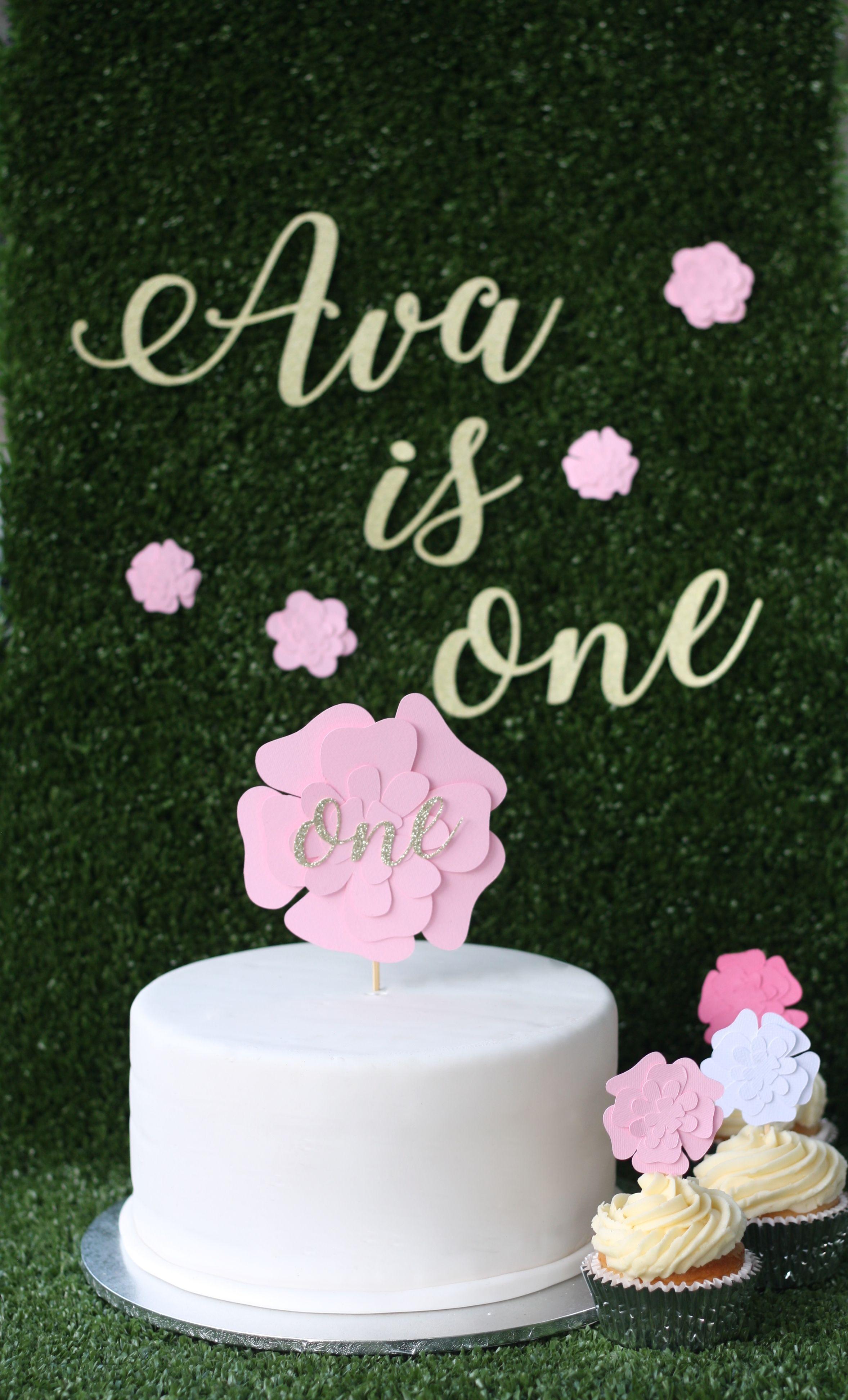 Flower cake topper 1695 flower cake toppers flower