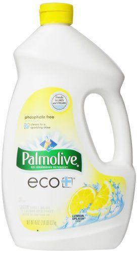 Palmolive Eco Gel Dishwasher Detergent Lemon Splash 45 Ounce