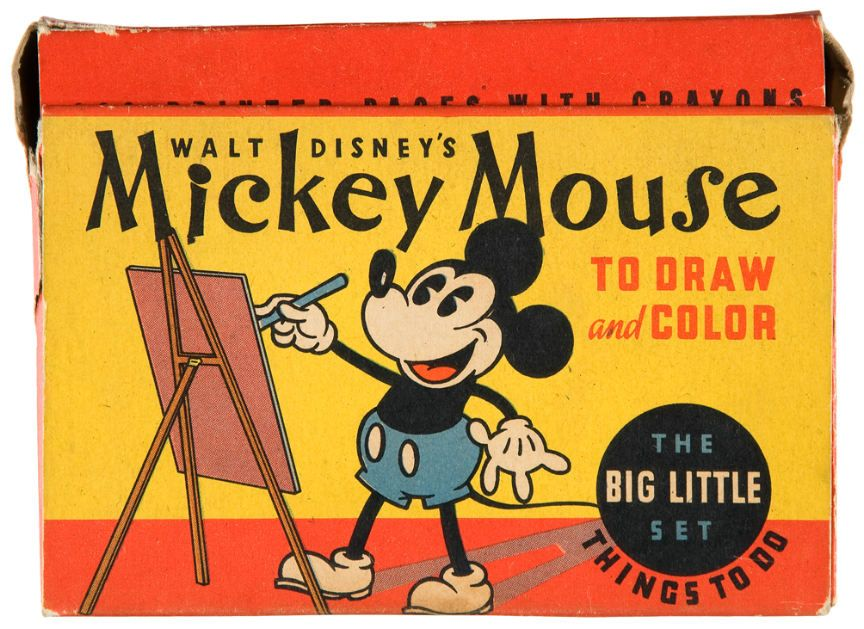 Mickey Mouse to Draw and Color