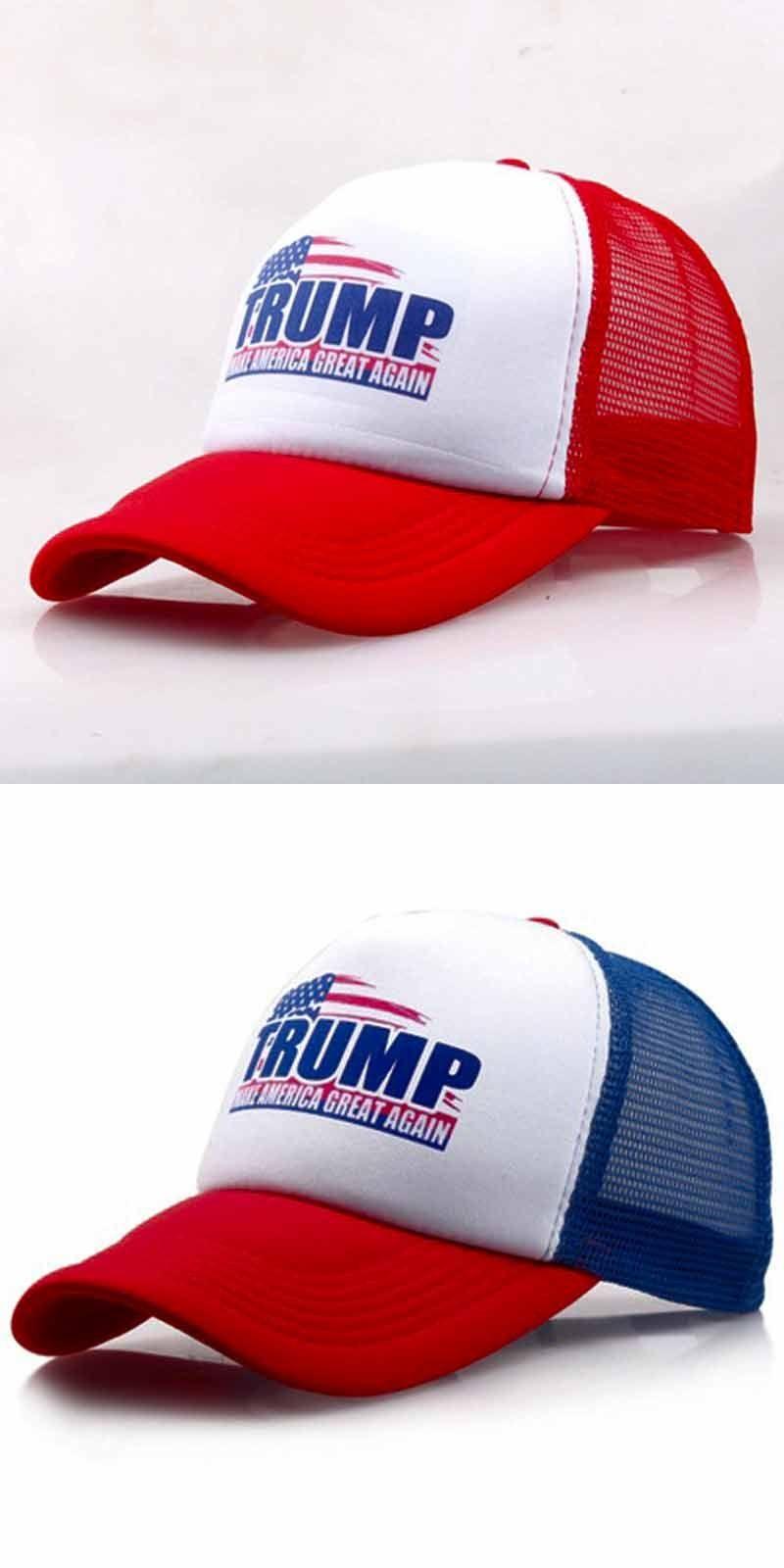 d6893befd04 JTVOVO Trump make america great again Cotton Adjustable Baseball Cap Unisex  Snapback Hat Outdoor Sports Hats