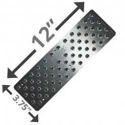Best 12 Non Slip Stair Pad Silver Stair Pads Wood Steps 400 x 300