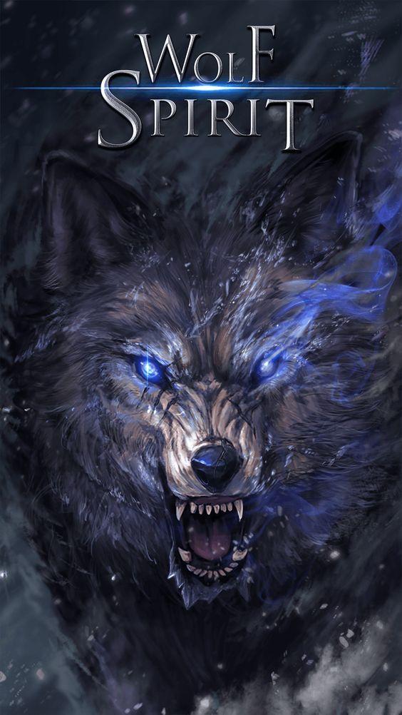 Pin Oleh Spicialyou Di Wolf Fantasy Art Gambar Serigala Binatang Buas Binatang Anime wolf live wallpaper
