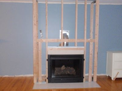 Adding a Fireplace and Built in Bookshelves | For the Home | Pinterest | Living rooms