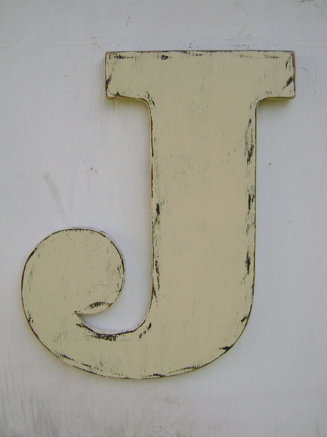 Large Letter J For Wall Rustic Wall Hanging Decor Home Decor Nursery Decor Baby Shower