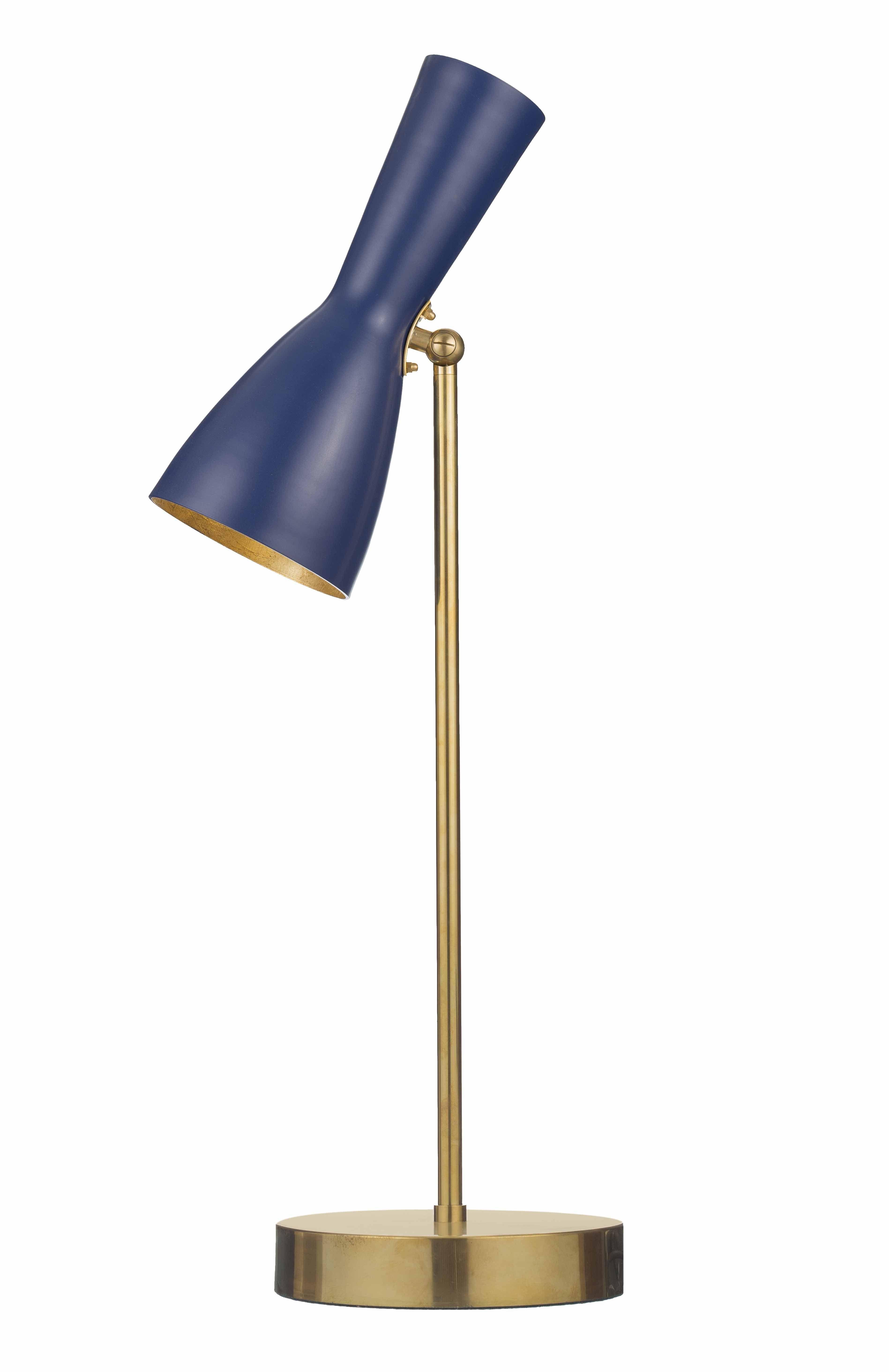 Wormhole 04 Sapphire Blue Shade Table Lamp Furniture