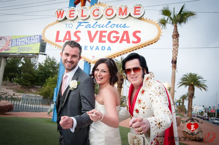 Las Vegas Sign With Elvis
