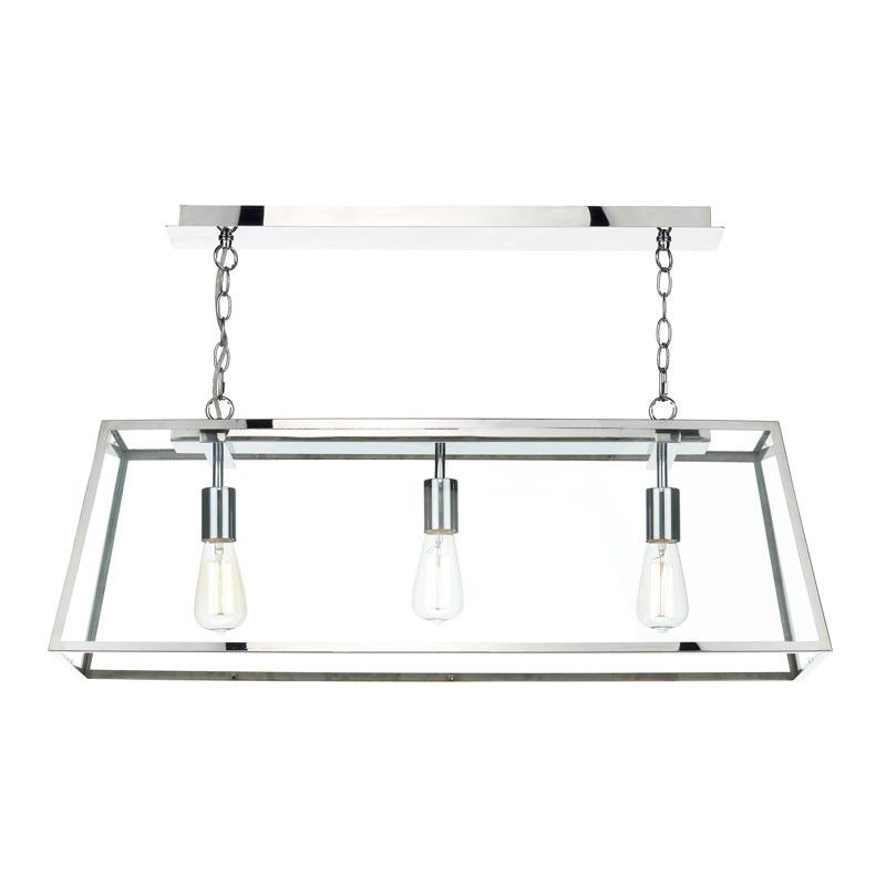 stainless steel lighting fixtures. Academy 3 Light Bar Pendant \u2013 Stainless Steel From Lighting Direct. Fixtures I