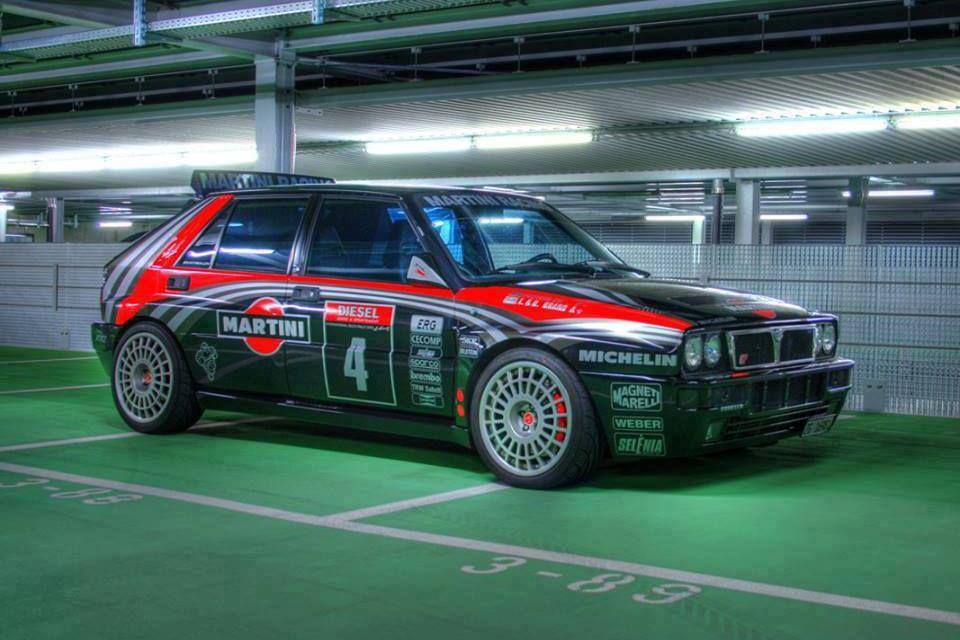 Lancia Delta Integrale (on Compomotive TH2 wheels)