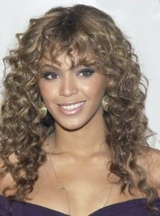 Celebrities With Dark Ash Blonde Hair Color Curly Hair With