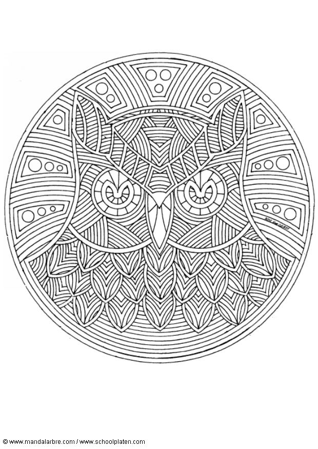 Coloriage Mandalas Mooie Plaatjes Pinterest Coloring Pages