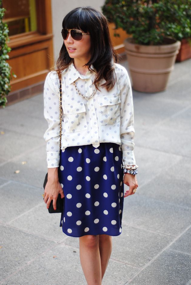 Sweets and Chic Boutiques: ::Polka-dotted::