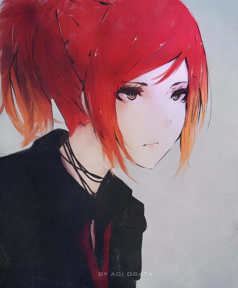 Anime Characters Red Hair : Pin by mailcarrier on aoi ogata pinterest anime manga