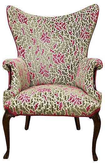 French High-Back Wing Chair - Rare and Worthy in 2018 Products