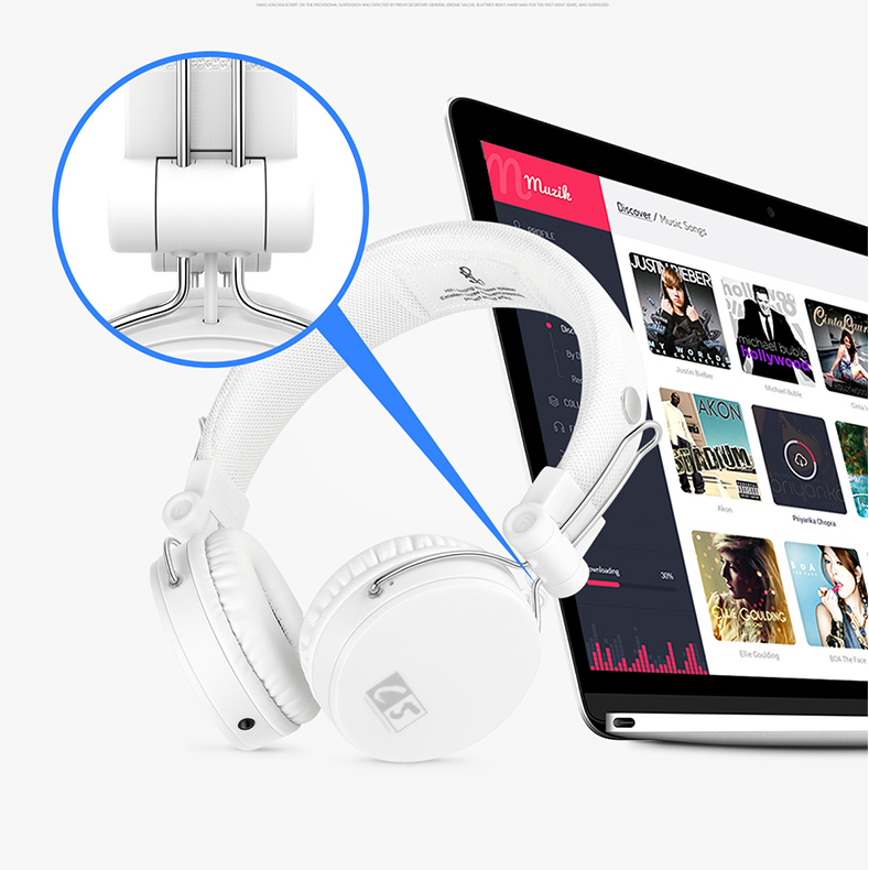 Ailihen C5 headphones for kids with adjustable headband - white. https://www.amazon.com/Headphones-AILIHEN-C5-Microphone-Lightweight/dp/B01F3501MI