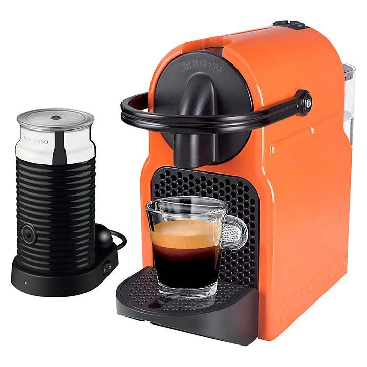 Nespresso Inissia Coffee Machine With Aeroccino By Magimix