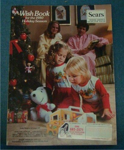 1980 Sears Christmas Wish Book Catalog Toys Fashion Electronics Bikes Star Wars   eBay