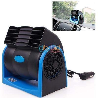 Dc 12v Auto Car Truck Vehicle Cooling Air Fan Speed Adjustable