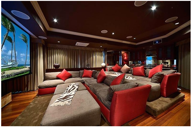 Dream Home Theatre Couches Love