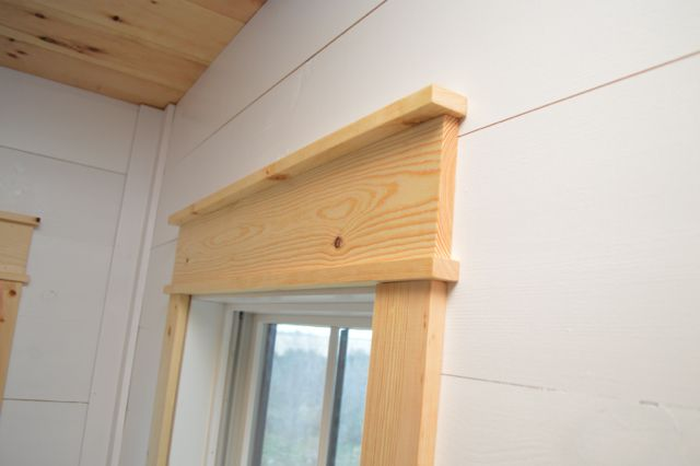 DIY shiplap walls and farmhouse trim images