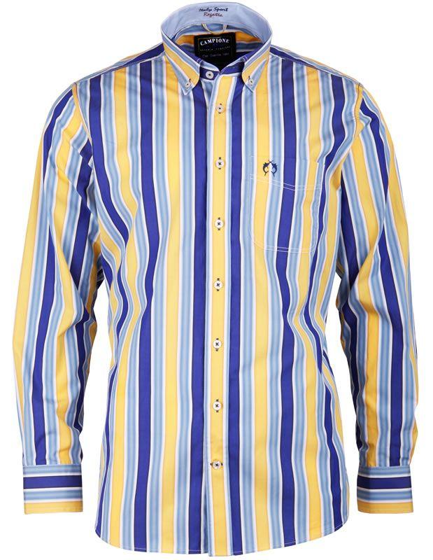Dieses #Herrenhemd aus der Marina Del Sole Kollektion von CLAUDIO #CAMPIONE ist ein echter Eyecatcher.