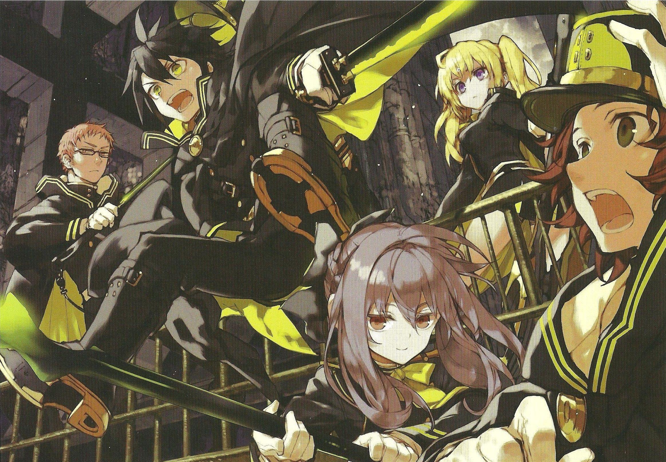 Owari no Seraph Wallpaper anime HD by corphish2.deviantart