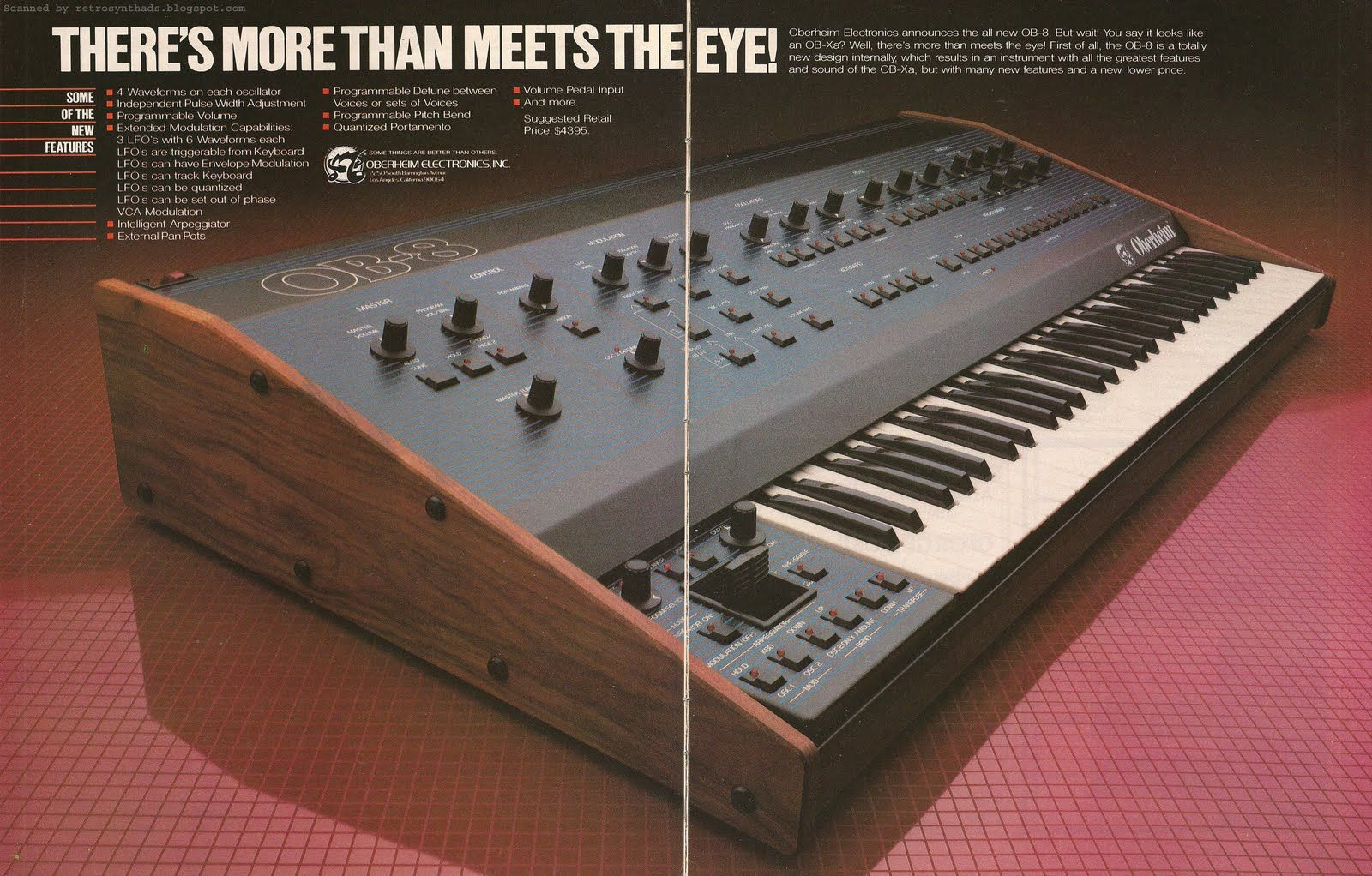 Oberheim OB8   CHRONODENDRO   Music, Music machine, Electronic Music