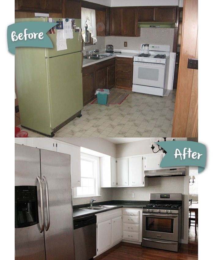 DIY Kitchen Remodel Done Over Several Years. See The