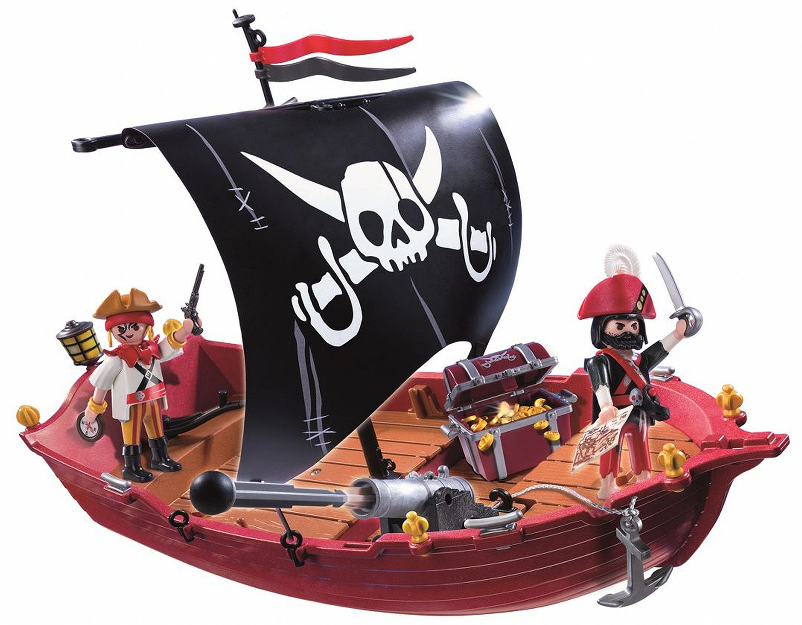 playmobil 5298 bateau pirate jeux et. Black Bedroom Furniture Sets. Home Design Ideas