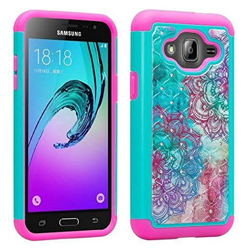 cheap for discount fcdf8 53708 Amazon.com: Samsung Galaxy J3 Case, J3V, Galaxy Express Prime ...