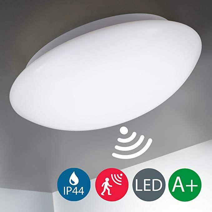 B K Licht Led Deckenleuchte Deckenlampe Radar Bewegungssensor