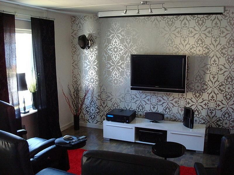 Small Tv Room Decorating Ideas Wallpaper Living Room Living Room Tv Luxury Living Room Decor